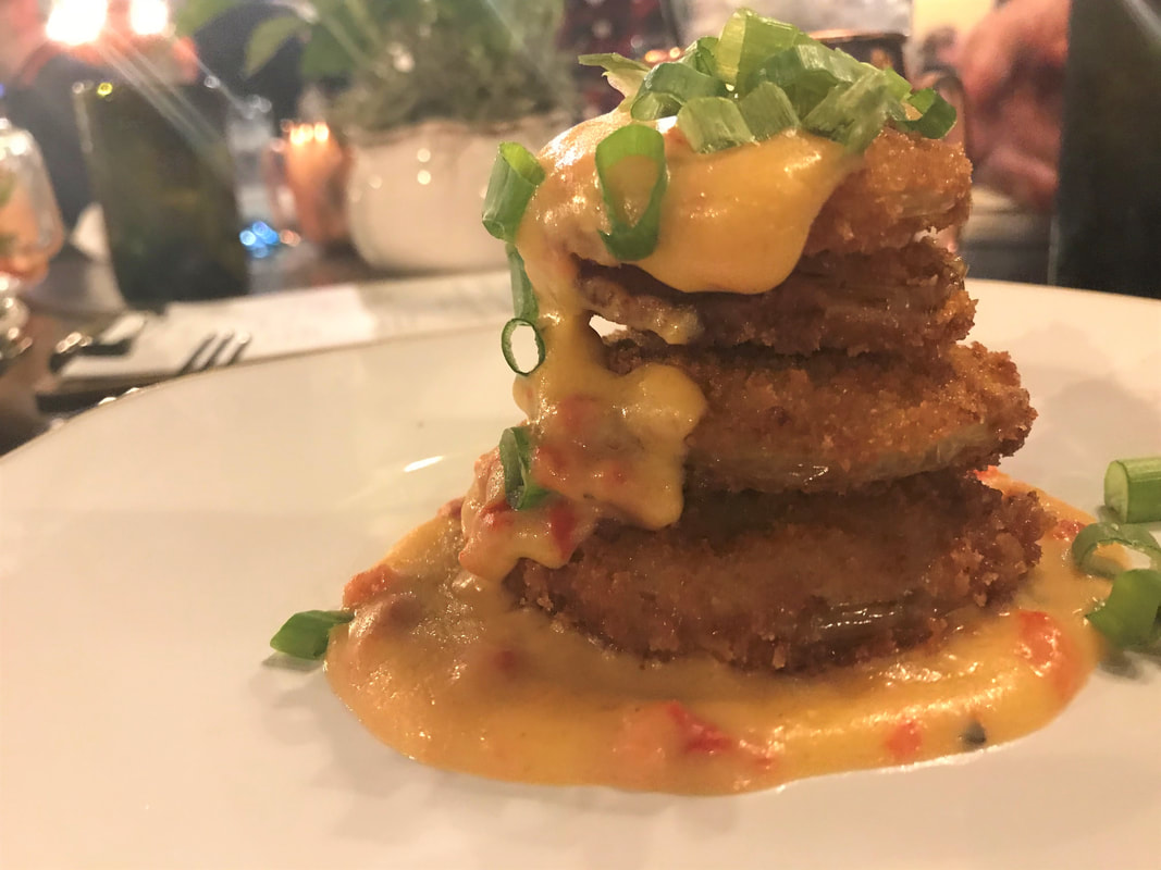 Fried Green Tomatoes ($7)