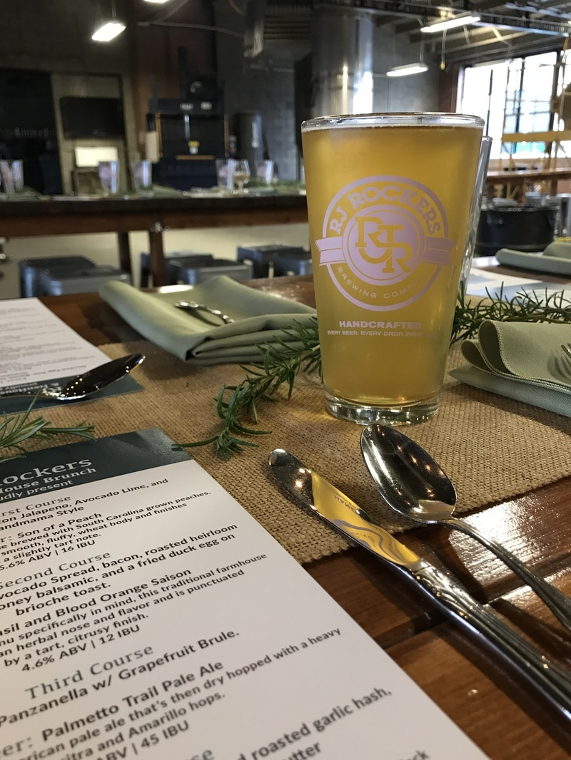 RJ Rockers HenHouse Brunch Beer Dinner